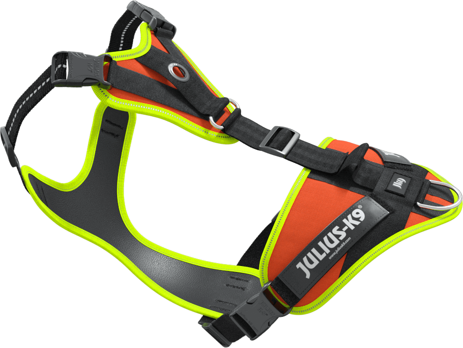 Mantrailing Harness Hotmap